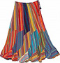 Fiesta Flowy Cotton Skirt
