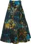 Roma Bohemian Wrap Long Skirt