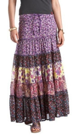 Layered Long Skirt