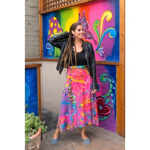 save off terrific value classic styles Buy skirts: boho, hippie, gypsy, peasant - cotton tie dye ...