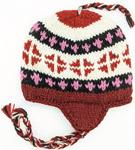 Deep Purple Woolen Hand Knitted Hat