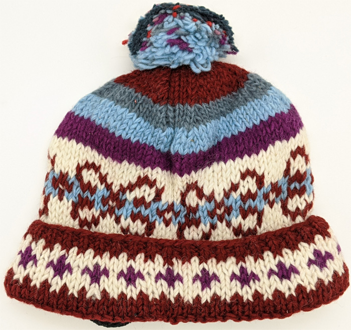 Hand Knitted Sienna Pure Wool Hat