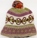 Pure Wool Nepal Hand Knitted Sprinkles On Top Hat