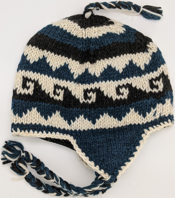 Bluewood Woolen Hand Knitted Hat