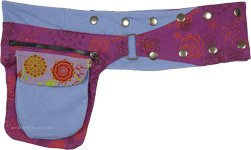 Regent Blue Studio Pocket Belt with Adjustable Snaps