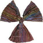 Razor Pattern Brown Gypsy Cotton Headband
