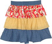 Cook with Love Ruffled Layers Half Apron