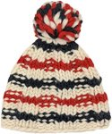 Cheerful Holiday Classic Wool Hat with Pompom