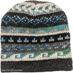 Turquoise Pure Wool Hand Knit Hat