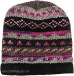 Pink Pure Wool Hand Knit Hat