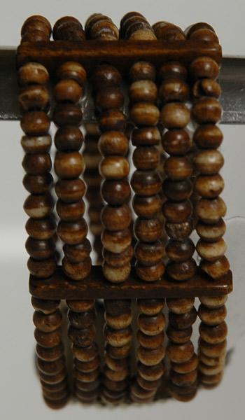 Wood Pendant Beeds Bracelet