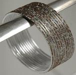 Silver Metal Bracelet [3507]