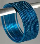 Blue Metal Bracelet [3509]