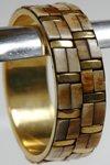Golden Ivory Boho Bracelet