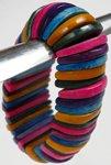 Multicolor Half Moon Boho Bracelet