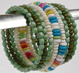 Green Glamor String Fashion Bracelet
