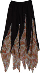 Crazy Scallops Gypsy Skirt