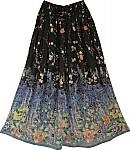 Gypsy Printed Long Skirt