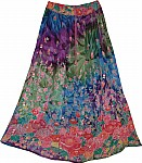 Multi Shaded Womens Skirt