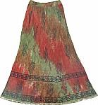 Tahitian Summer Long Skirt