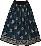 African Boho Long Skirt