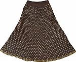 Kabul Summer Crinkle Short Skirt
