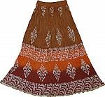 Crinkle Gyspy Boho Skirt