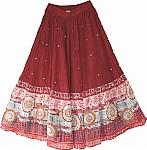 Lotus Bohemian Summer Skirt