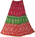 Shiraz Gypsy Summer Skirt