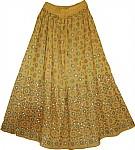 Sparkling Husk Sequin Skirt