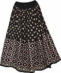 Bohemian Boho Night Long Skirt