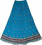 Cerulean Summer Tall Skirt