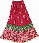 Hippy Gypsy Summer Long Skirt
