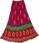 Hippie Bohemian Summer Long Skirt