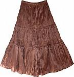 Spicy Mix Satin Skirt