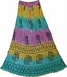 Fiesta Summer Tall Long Skirt