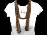 Multi Strand Necklace Set