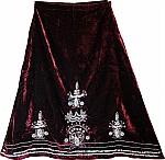 Plush Velvet Skirt [1341]