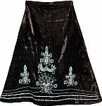 Zeus Velvet Sequin Skirt