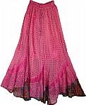 Romantic Womens Long Skirt
