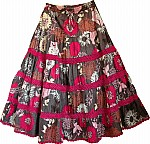Floral Cotton Feista Skirt