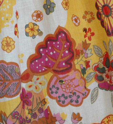 Golden Grassland Summer Skirt