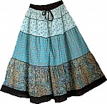 Wedgewood Summer Cotton Skirt