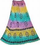 Fiesta Summer Tall Long Skirt