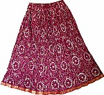 Night Shadz Cotton Summer Short Skirt