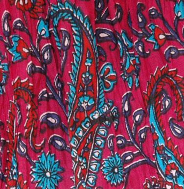 Natural Dyes Long Skirt