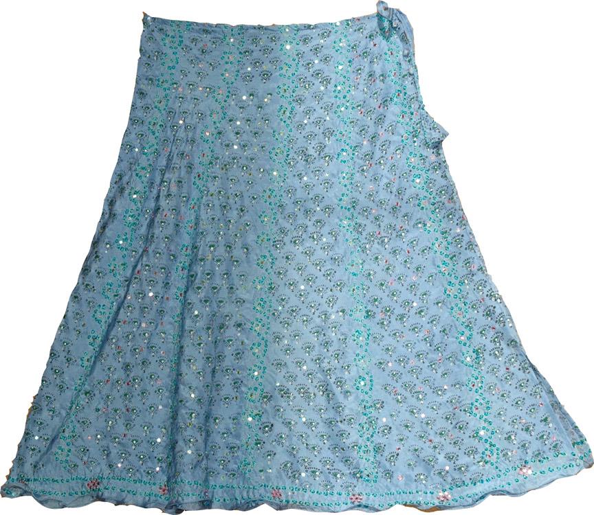 Bali Hai Silk Skirt, Shadow Shaded Silk Skirt