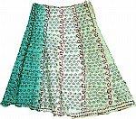 Keppel Ethnic Silk Skirt