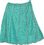 Dancing Boho Fashion Silk Skirt [1543]