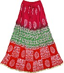 Hippie Bohemian Summer Long Skirt